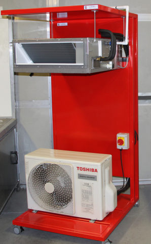 Toshiba helps UK's top air conditioning students prepare for SkillFRIDGE finals