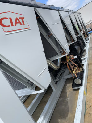 CIAT Delivers Chiller Replacement at London Hospital on Hottest Day Ever Recorded in UK